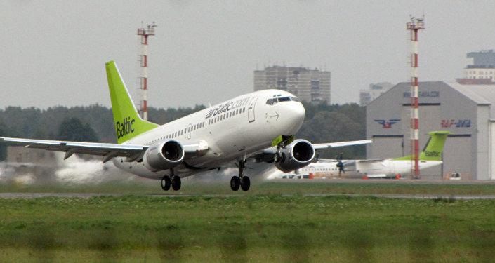 Aviokompānijai airBaltic. Foto no arhīva