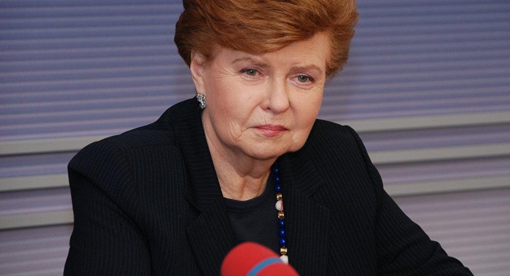 экс-президент Латвии Вайра Вике-Фрейберга. Архивное фото