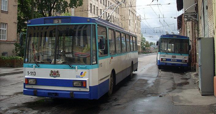 Троллейбусы в Латвии. Архивное фото