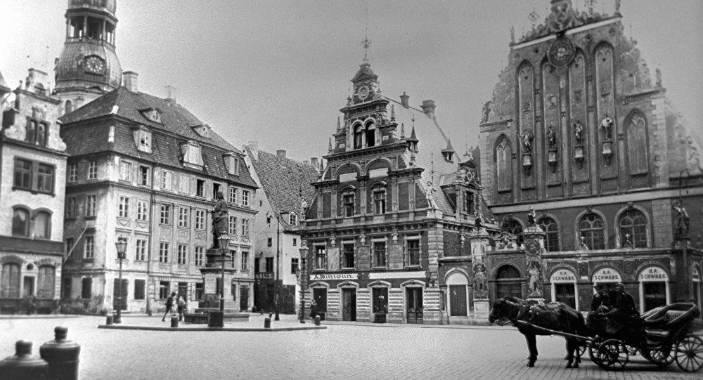 Площадь в Риге. Архивное фото