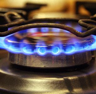 Газовая конфорка, архивное фото