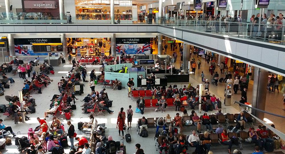 Hītrovas lidosta Londonā
