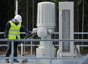 Элемент газопровода Северный поток, архивное фото