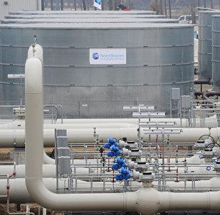 Gāzes vada Ziemeļu straume atklāšana Vācijā