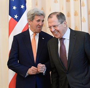 KF un ASV ārlietu ministri.