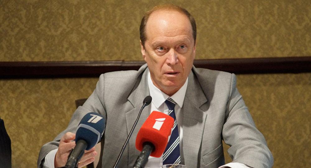 Чрезвычайный и Полномочный Посол РФ в Латвии Александр Вешняков