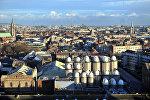 Вид на Дублин, архивное фото