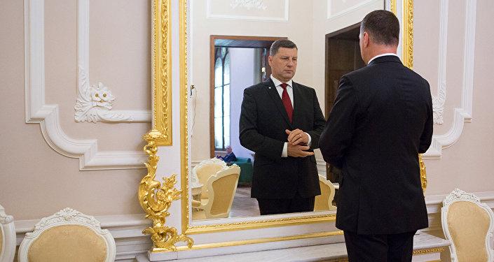 Президент Латвии Раймонд Вейонис. Архивное фото