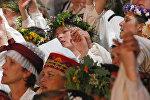 Песенный фестиваль в Латвии