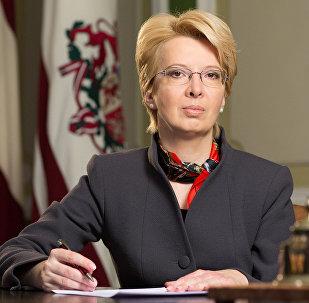 Saeimas priekšsēdētāja Ināra Mūrniece