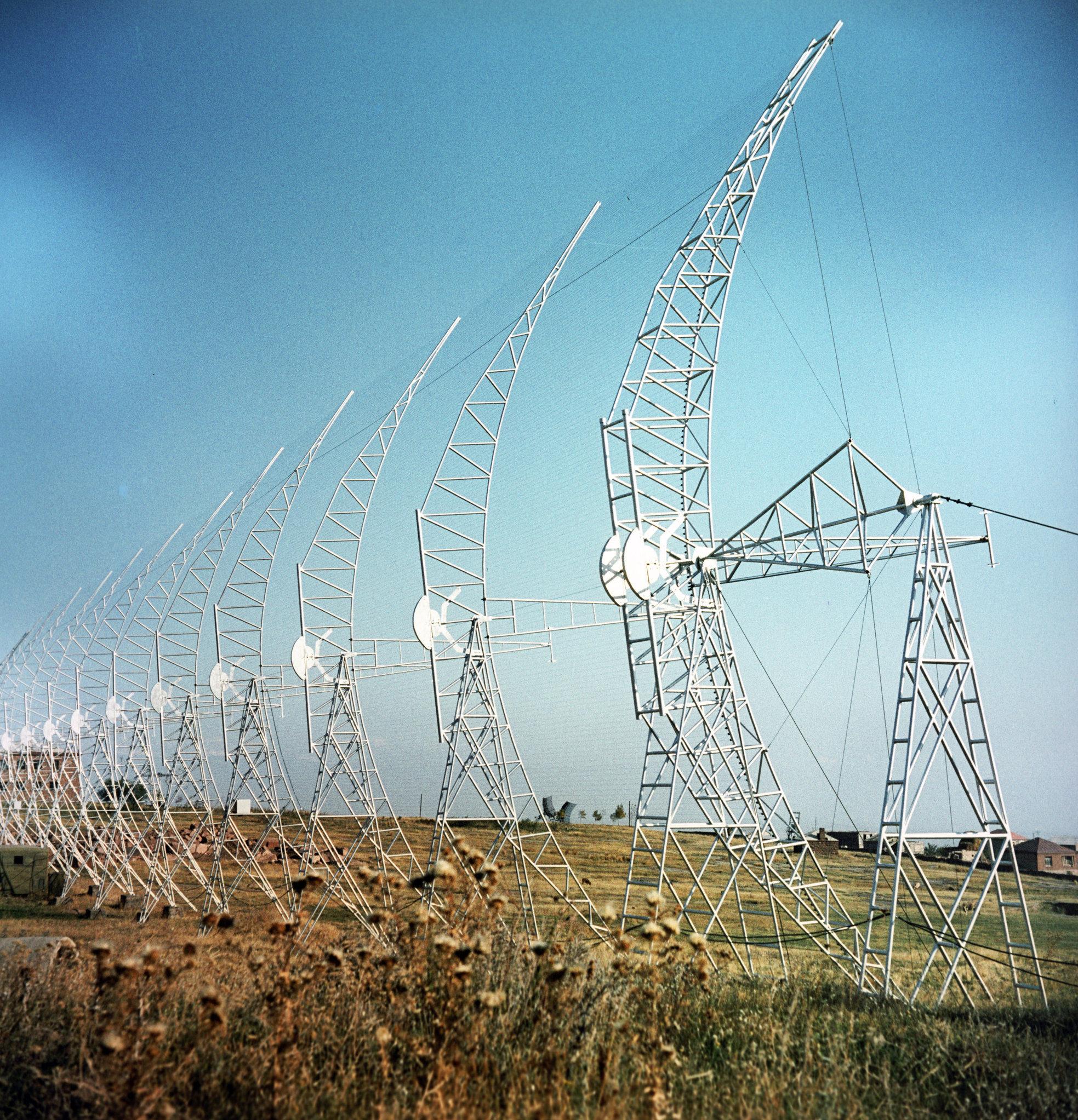 Радиотелескопы Бюроканской астро-физической обсерватории