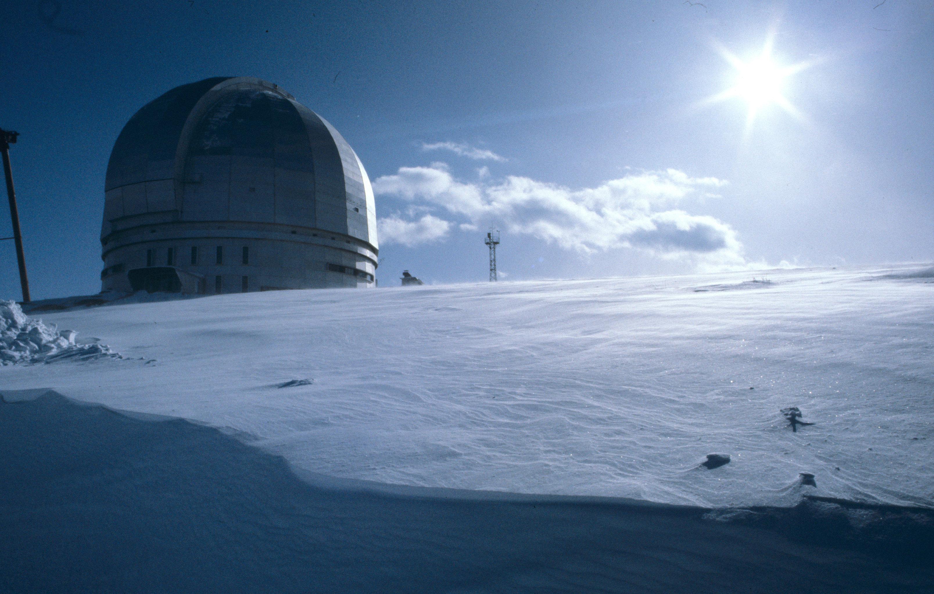 Купол Большого азимутального телескопа