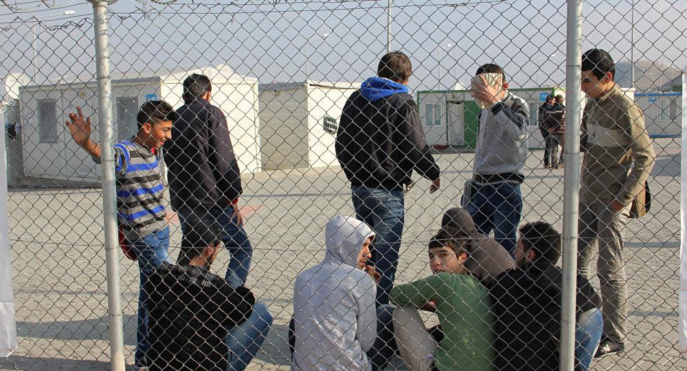 В лагере сирийских беженцев. Архивное фото