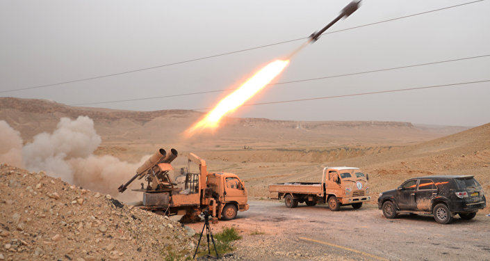 Sīrijas armija un zemessargi kaujās par Palmīru