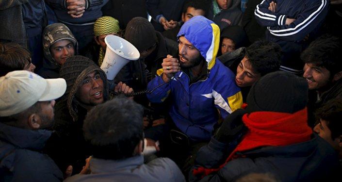 Ситуация с беженцами. Архивное фото