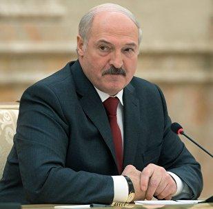 Baltkrievijas prezidents Aleksandrs Lukašenko. Foto no arhīva