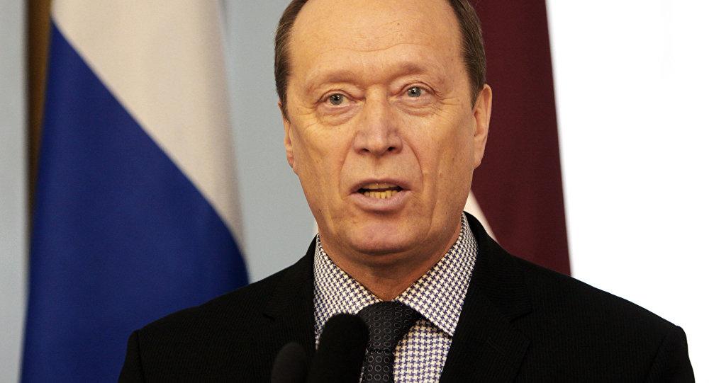 Krievijas vēstnieks Latvijā Aleksandrs Vešņakovs