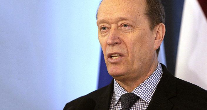 Ārkārtējais un Pilnvarotais Krievijas Vēstnieks Latvijā. Foto no arhīva