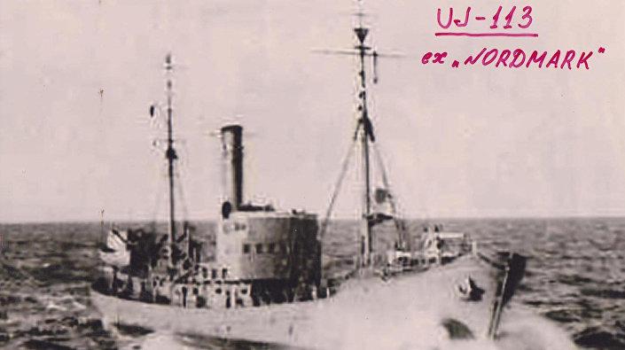 Kuģis Nordmark, ko atrada akvalangisti