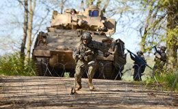 ASV armijas militārās mācības. Foto no arhīva