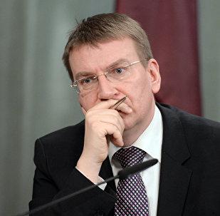 Latvijas ĀM vadītājs Edgars Rinkēvičs