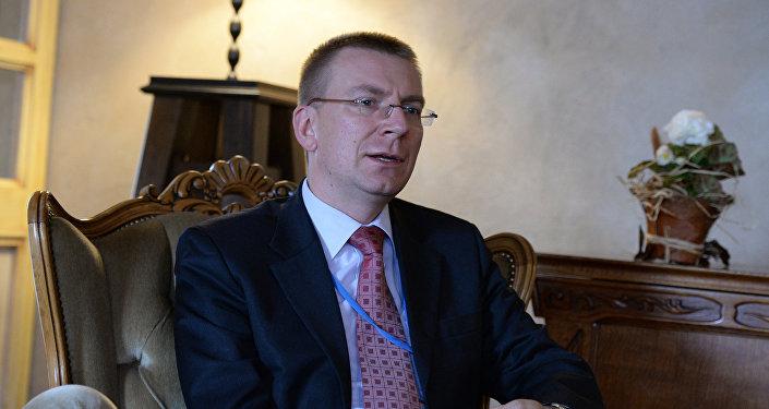 Latvijas ārlietu ministrs Edgars Rinkēvičs. Foto no arhīva