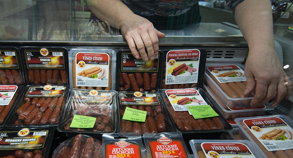 Продажа мясной продукции из Латвии, архивное фото