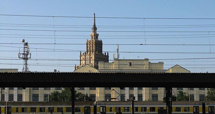 Железнодорожная станция Рига-Пассажирская