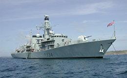 Britu fregats Iron Duke