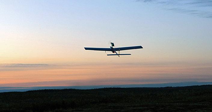 Bezpilota izlūkošanas lidaparāts. Foto no arhīva
