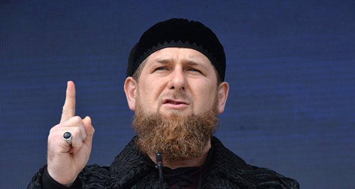 Čečenijas Republikas vadītāja vietas izpildītājs Ramzans Kadirovs. Foto no arhīva