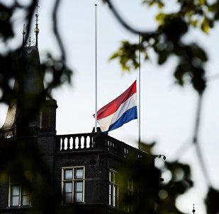 Флаг Нидерландов, архивное фото