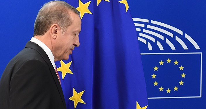 Turcijas prezidents Tajjips Erdogans. Foto no arhīva