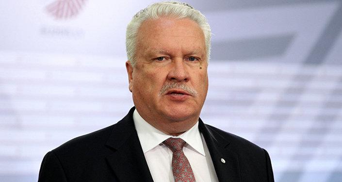 Министр земледелия Янис Дуклавс