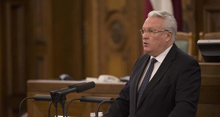 Министр земледелия Янис Дуклавс. Архивное фото