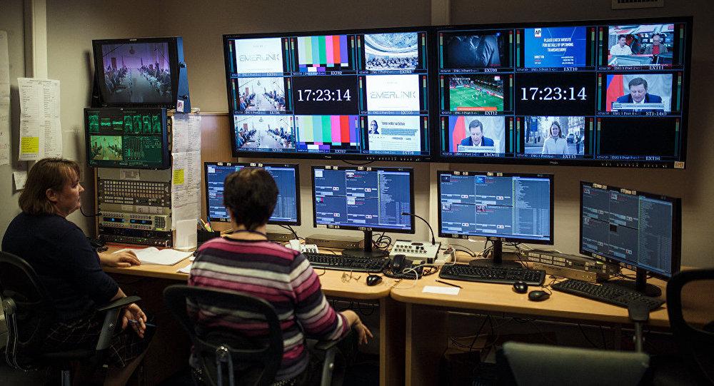 Студия вещания телеканала Россия на страны ближнего зарубежья