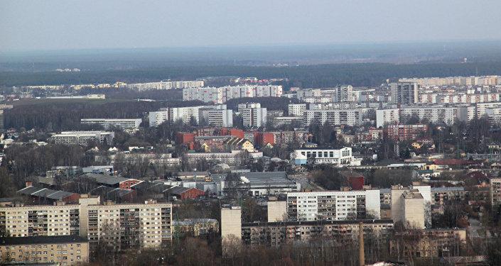 Вид на город с Рижской телебашни. Архивное фото