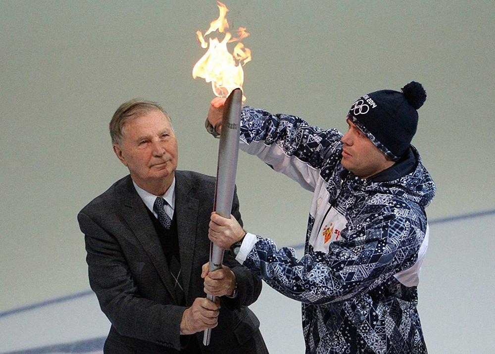 Заслуженный тренер СССР Виктор Тихонов