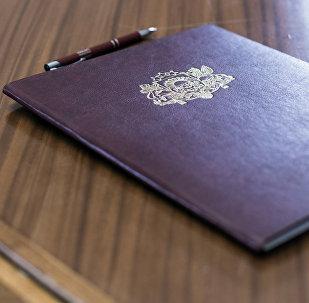 Подписание документов в Сейме