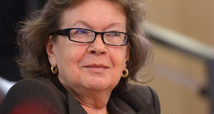 Olga Zinovjeva, Zinovjeva kluba līdzpriekšsēdētāja.Foto no arhīva
