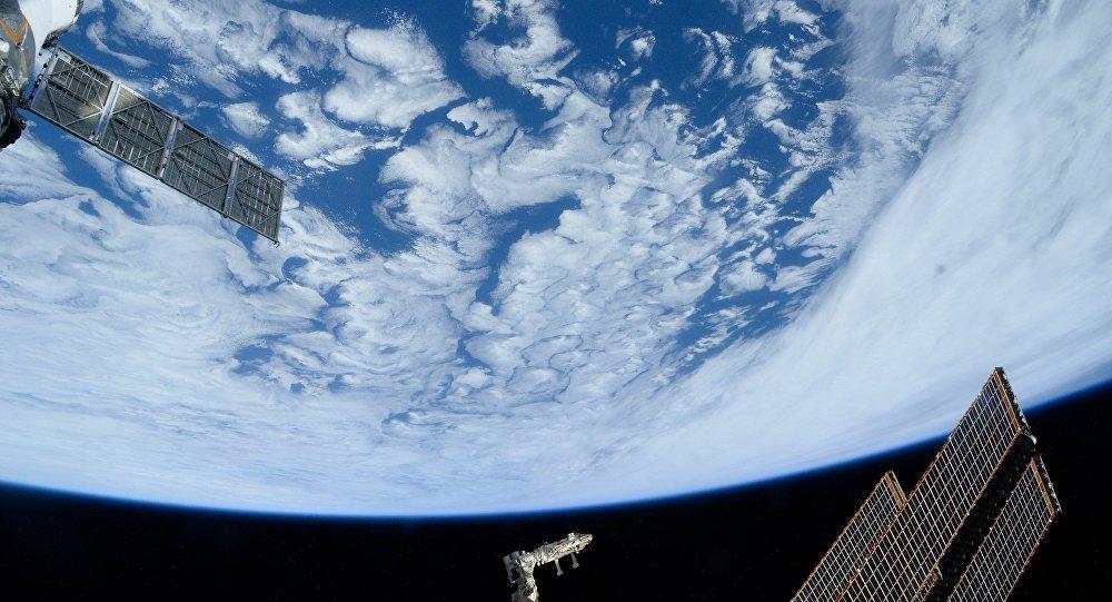 Вид Земли из космоса, архивное фото