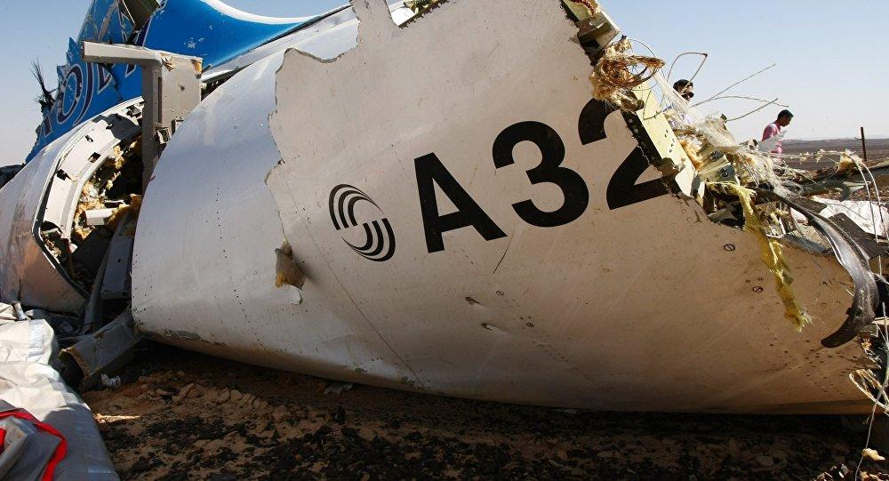 Место крушения российского самолета Airbus A321 в Египте. Архивное фото.