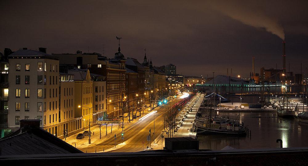 Вид от Успенского собора. Хельсинки