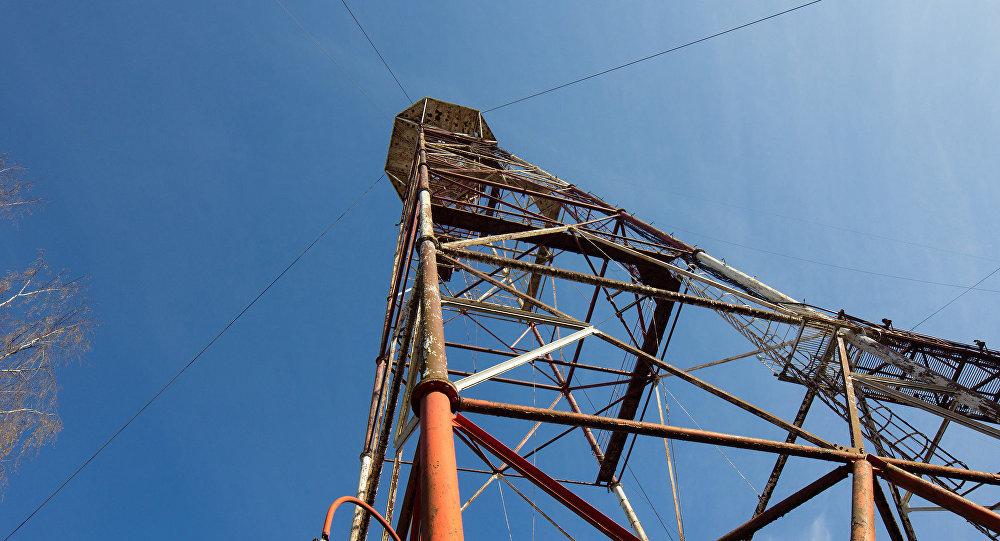 Радиовышка в Риге. Архивное фото