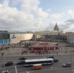 Железнодорожный вокзал. Центральная площадь