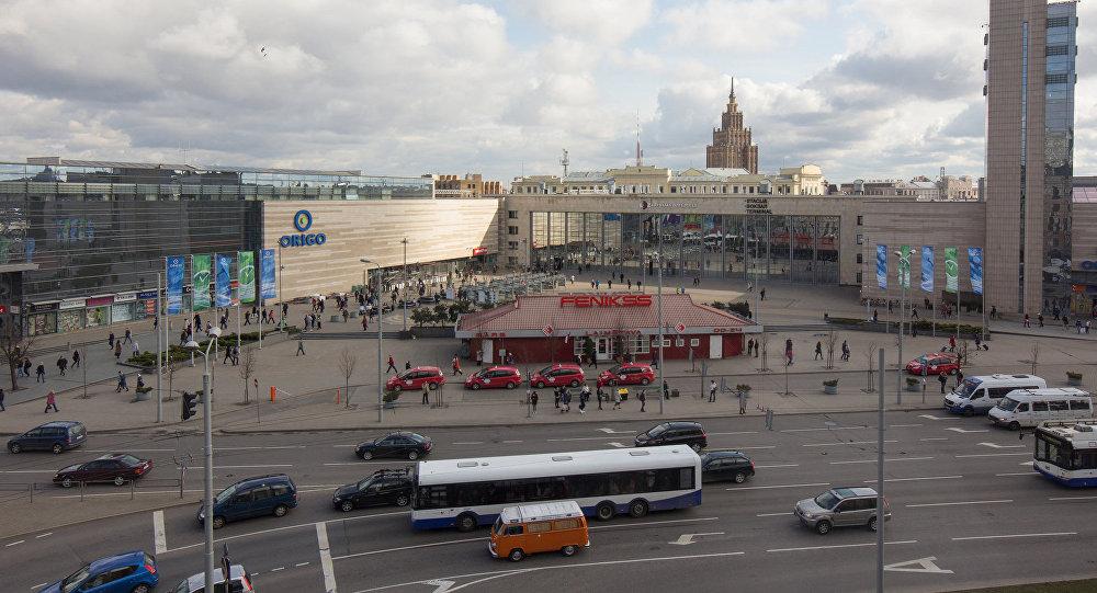 Рижский центральный вокзал. Архивное фото