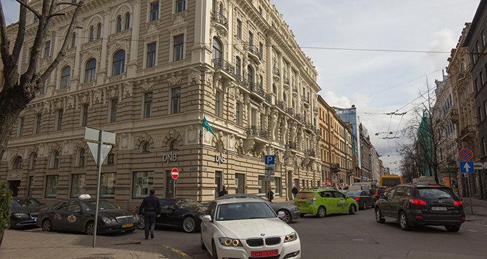 Улица в Риге. Архивное фото