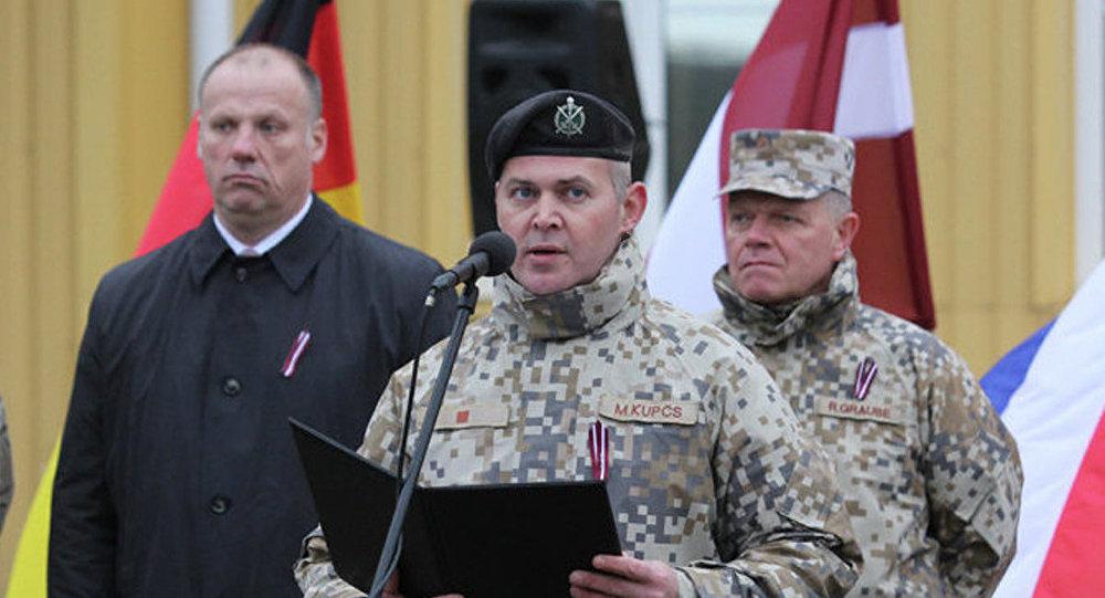 Открытие центра интеграции сил НАТО. Фото с места события
