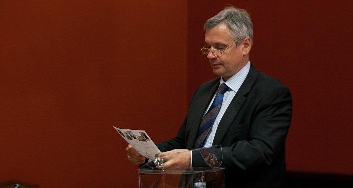 Izglītības un zinātnes ministrs Kārlis Šadurskis. Foto no arhīva