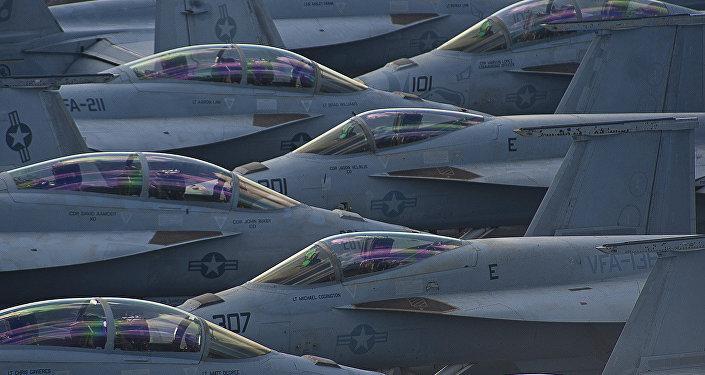 Самолеты ВВС США. Архивное фото